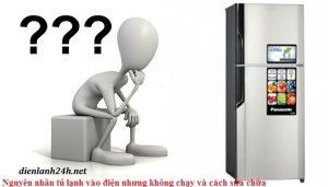 Tủ lạnh không lạnh dù có điện