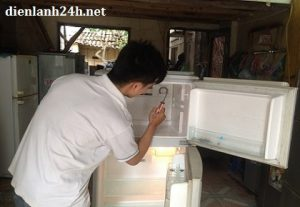 sửa tủ lạnh tại văn khê