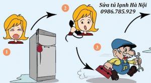 Sửa tủ lạnh tại Trần cung